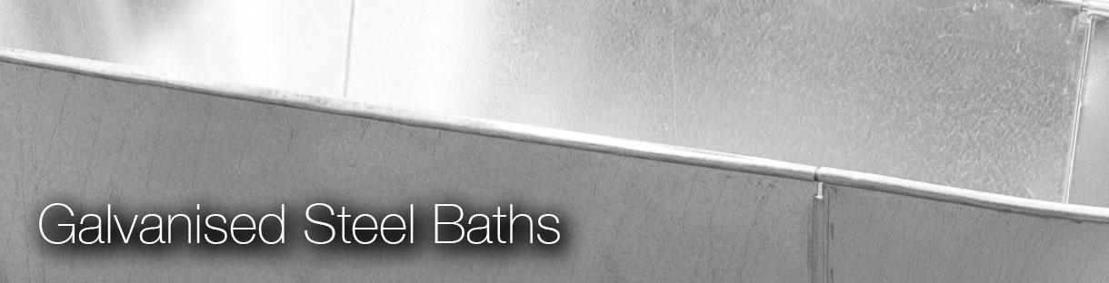 Galvanised Steel Tin Bath